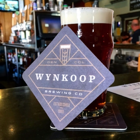 A delightful amber ale (on cask!) at the delightful (and iconic) Wynkoop Brewery.